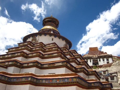el monasterio de Shiangtse, Tíbet